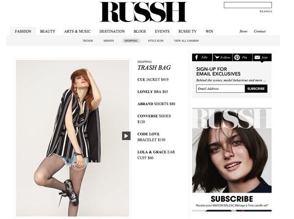 RUSSH ONLINE + CODE LOVE